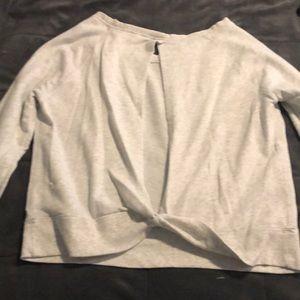 Victoria's Secret keyhole back sweatshirt